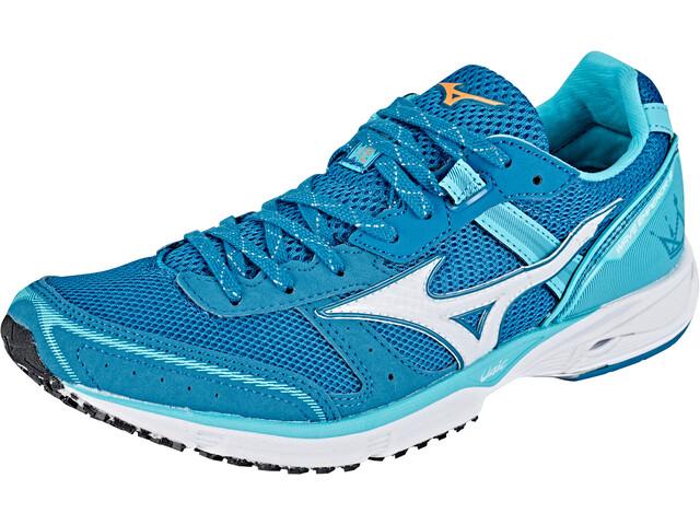Mizuno Wave Emperor 3 Shoes Women blue curacao/white/blue sapphire